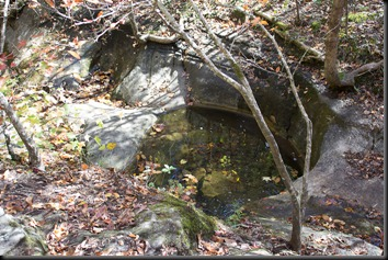 Indian Rockhouse - Natural Bathtub