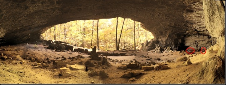 Indian Rockhouse Panorama