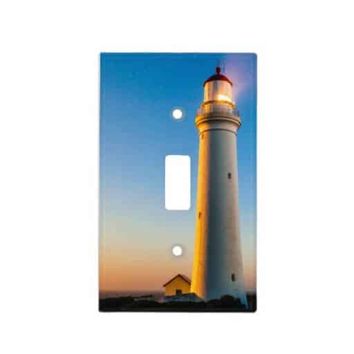 Lighthouse Sunset Light Switch Cover