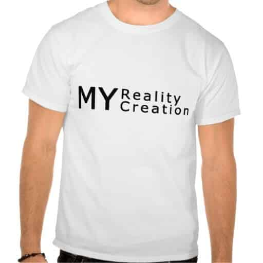 Create your own reality t shirt creativeradiance for Design and buy your own shirt