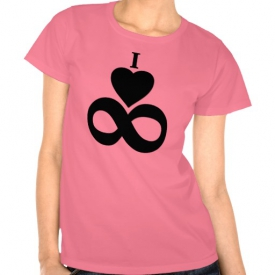 I Love Infinity T-Shirt