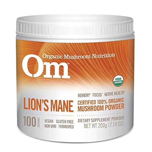 Om Organic Mushroom Supplement, Lion's Mane